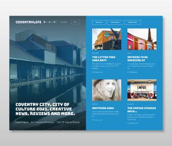 Coventry Life Website Design